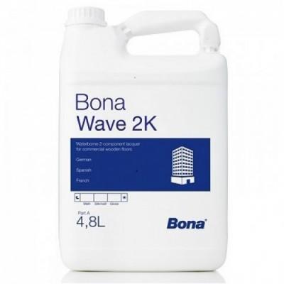 Лак Bona Wave, 2К, водно-дисперсионный, 5л.