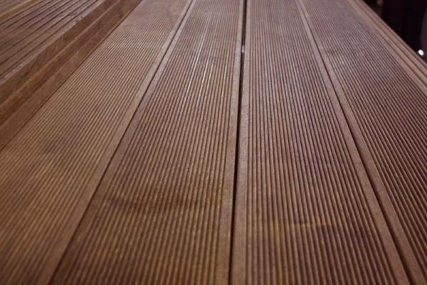 Террасная доска деревянная
